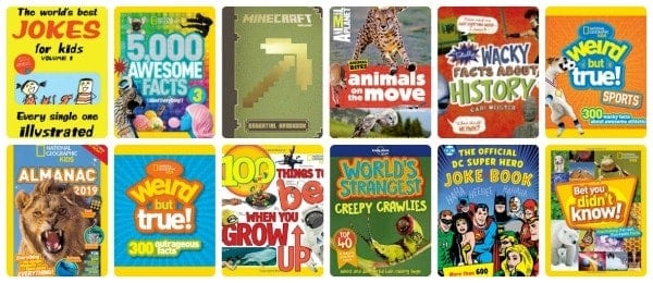 Short Nonfiction Books for Reluctant Readers