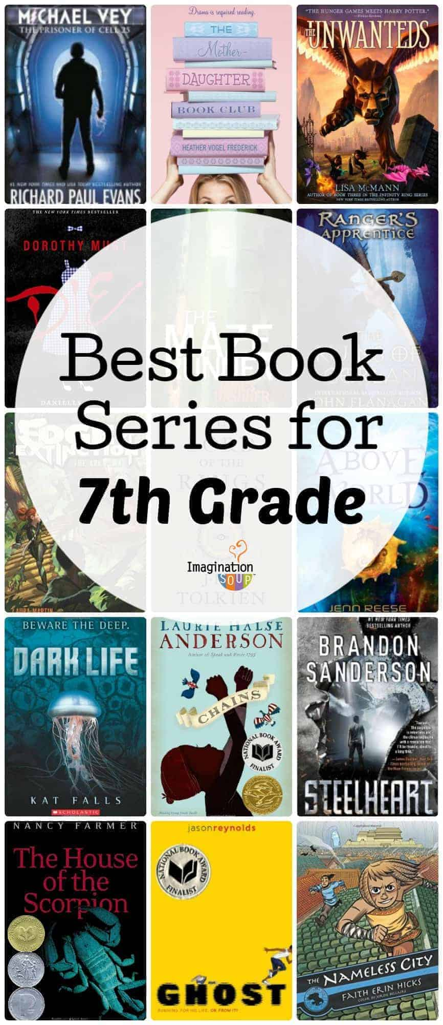 best book series for 7th grade