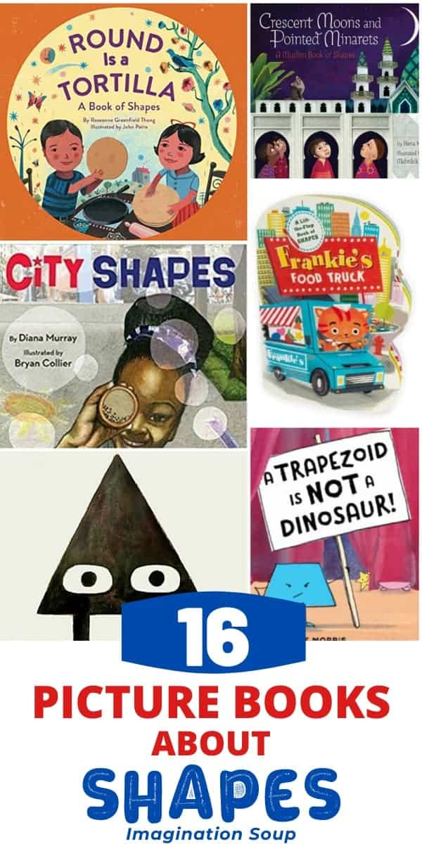 best picture books about shapes