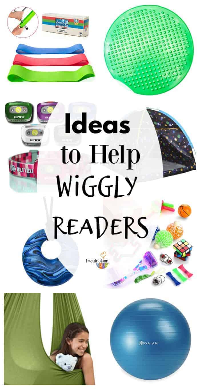 Ideas to Help Your Wiggly Reader Who Can't Sit Still