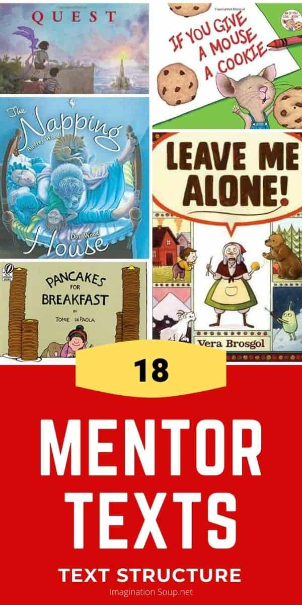 mentor text picture books to teach narrative text structure to students