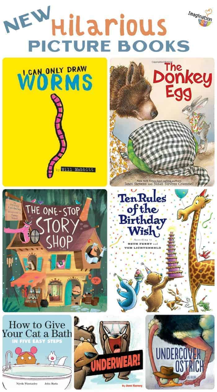 new hilarious picture books 2019