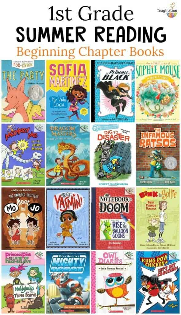 1st grade summer reading beginning / easy chapter books