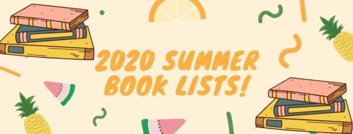 2020 summer reading and book lists!