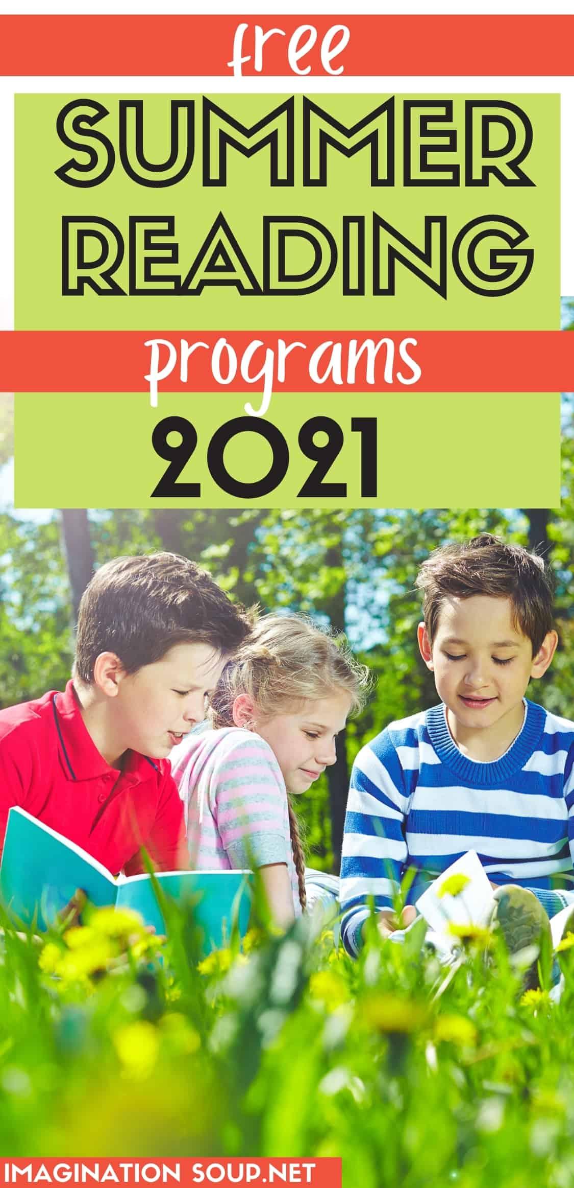 2021 free summer reading programs