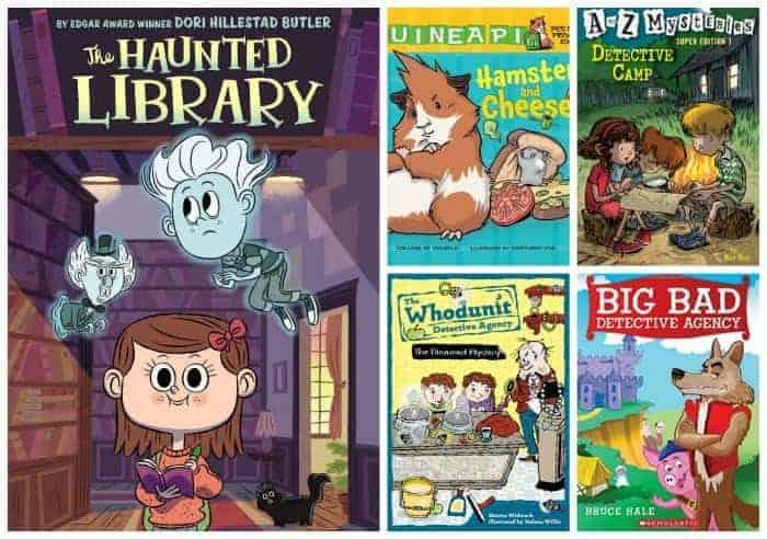 2nd grade mystery books summer reading list