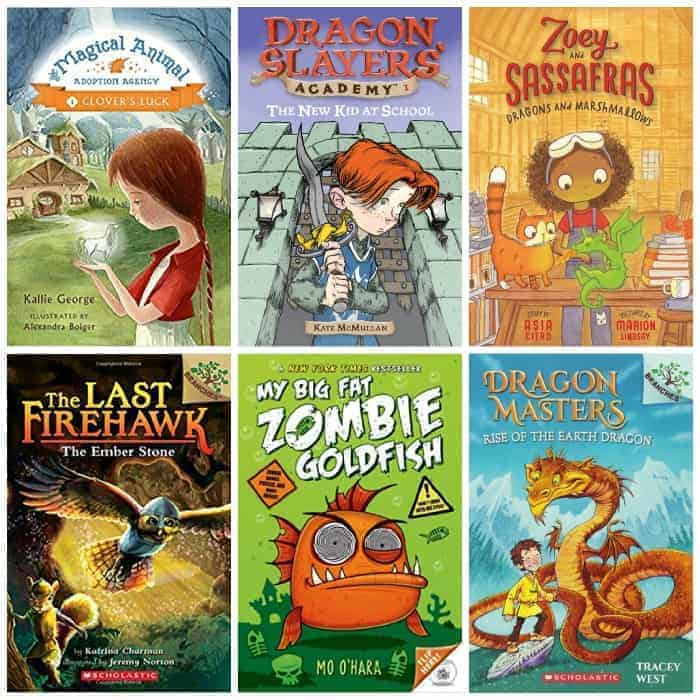 2nd grade mythical creatures summer reading book list