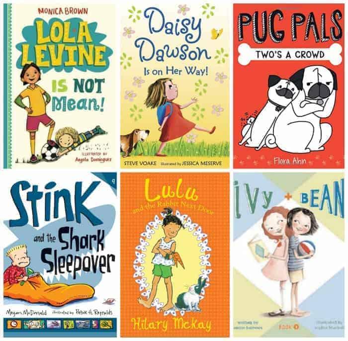 2nd grade realistic summer book list