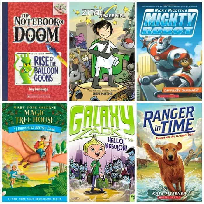 2nd grade summer book list adventure stories