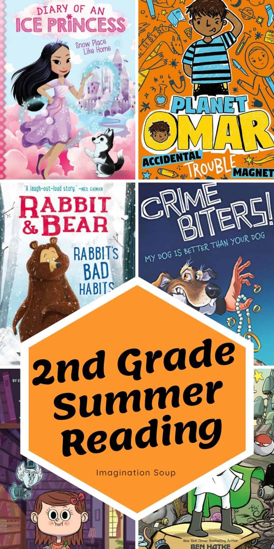 2nd grade summer reading book list