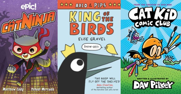 2nd grade summer reading graphic novels