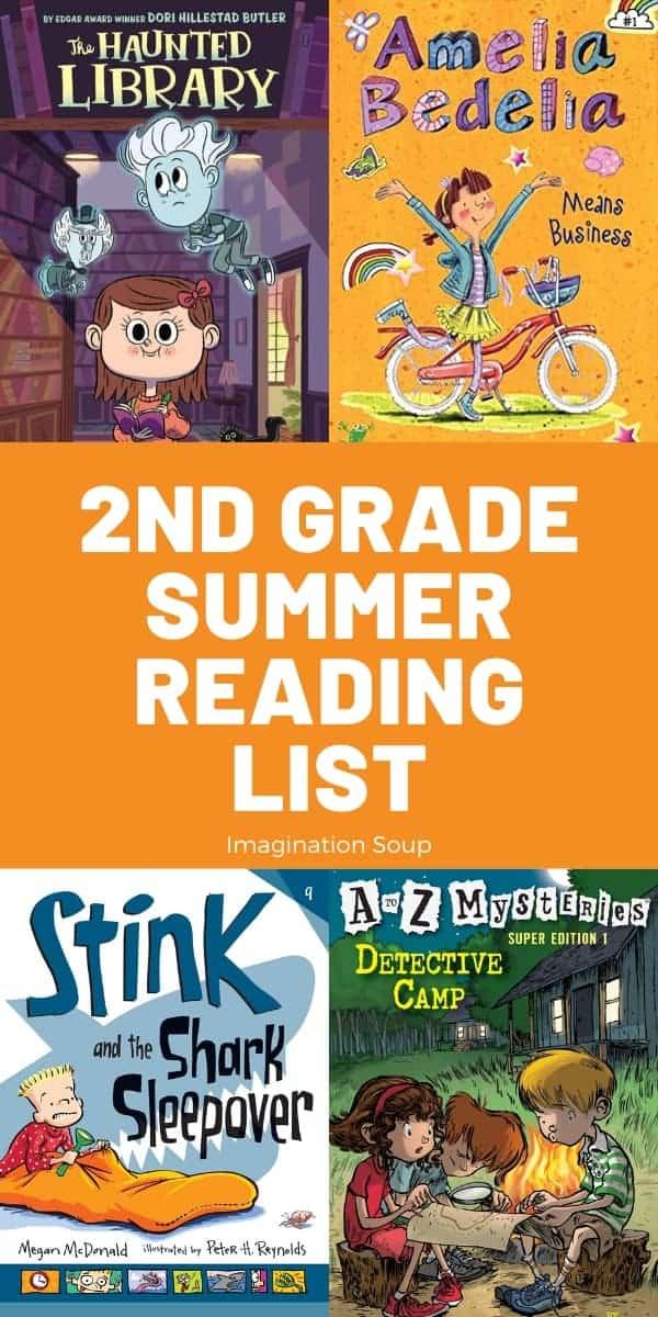 2nd grade summer reading list plus printable