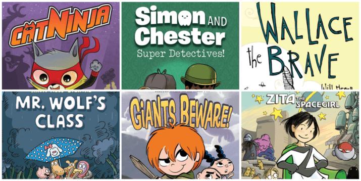 3rd grade graphic novels