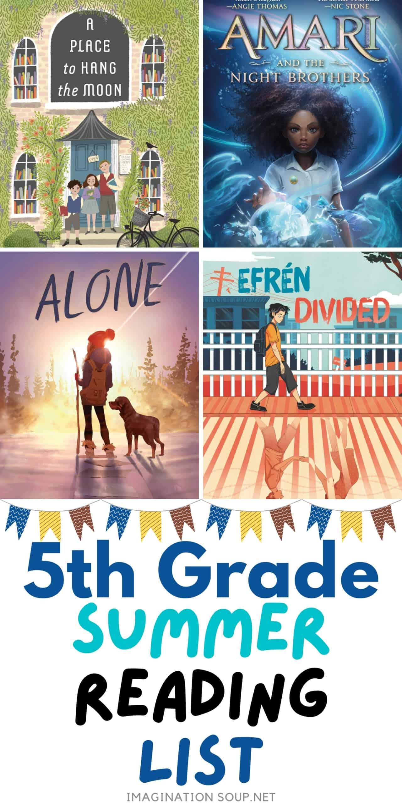 5th Grade Summer Reading Book List