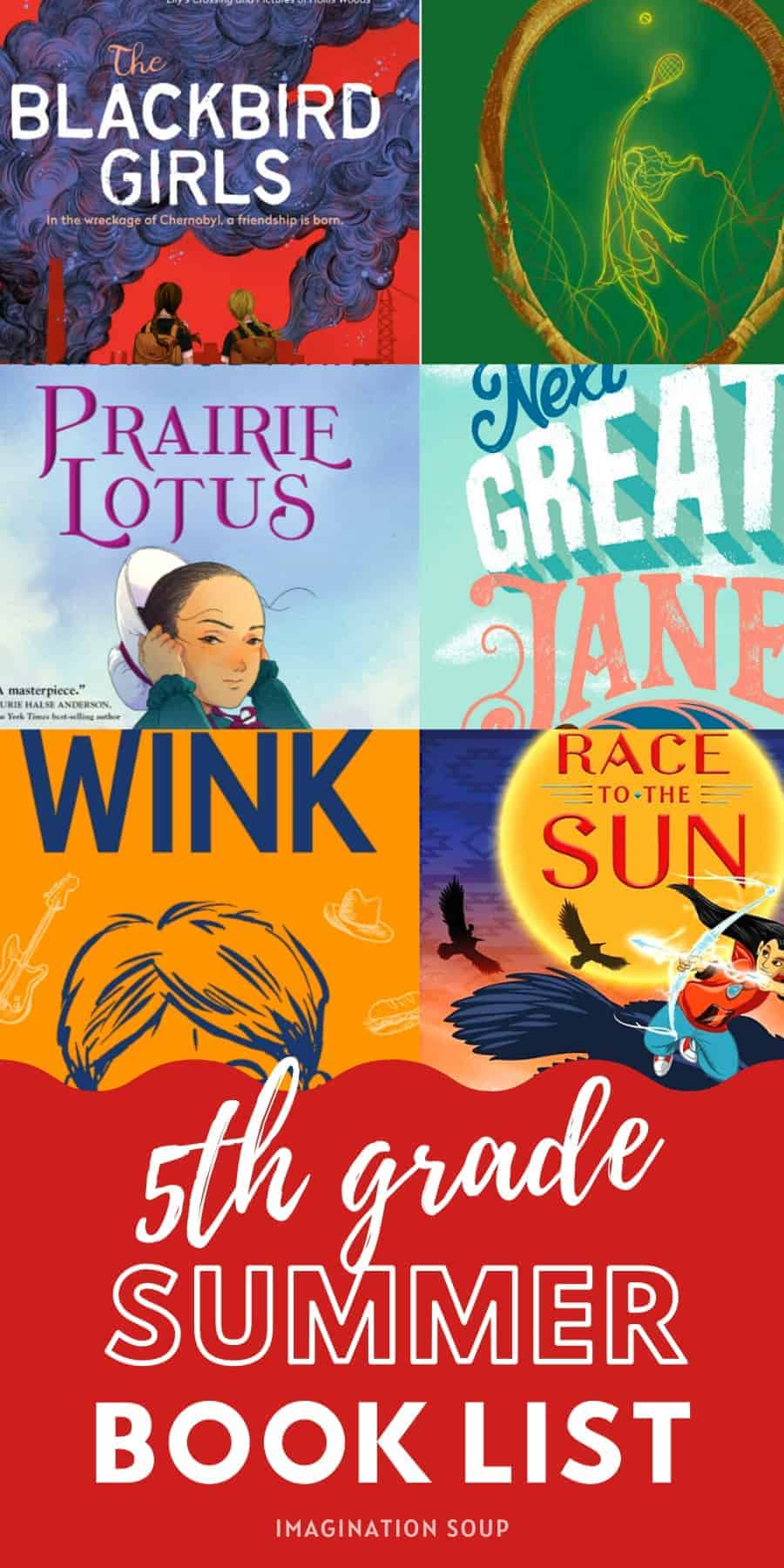 5th Grade Summer Reading List (Ages 10 - 11)