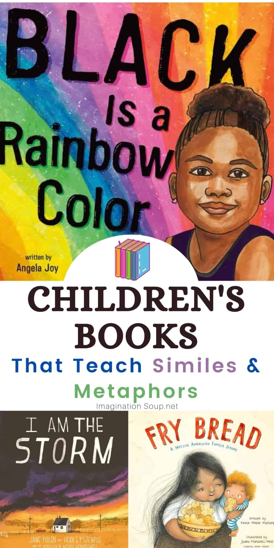 20 mentor texts to teach similes and metaphors
