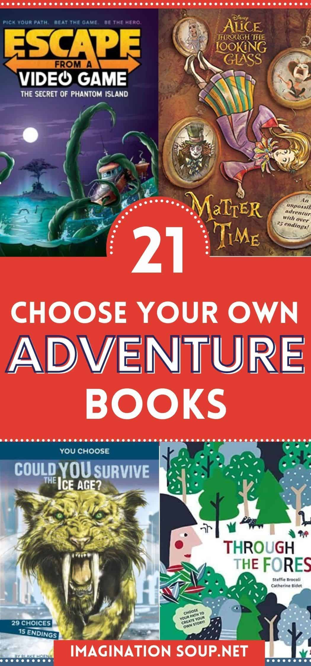 Choose Your Own Adventure Books for Kids