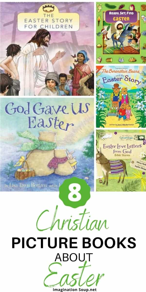 Christian books for kids about Easter