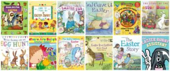 Easter books for kids (Christian and Secular)