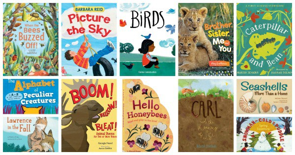 New Picture Books for Young Naturalists