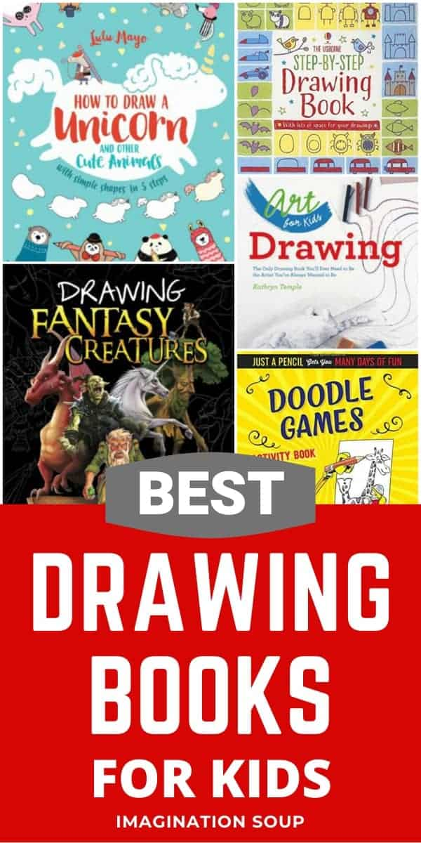 best drawing books for kids (and favorite art supplies)