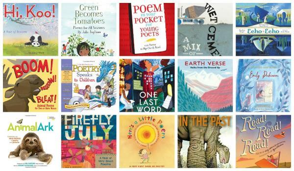 best poetry books elementary age children