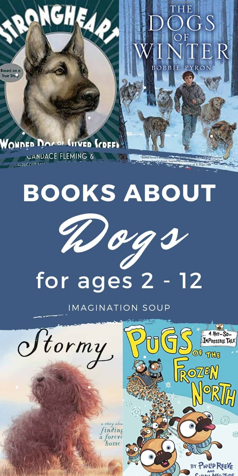 children's picture and chapter books about dogs