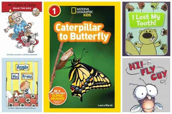 1st grade summer reading list easiest chapter books