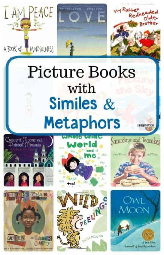 picture books with similes and metaphors (mentor texts)