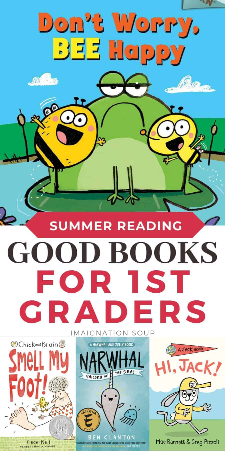 summer reading ideas for 1st graders