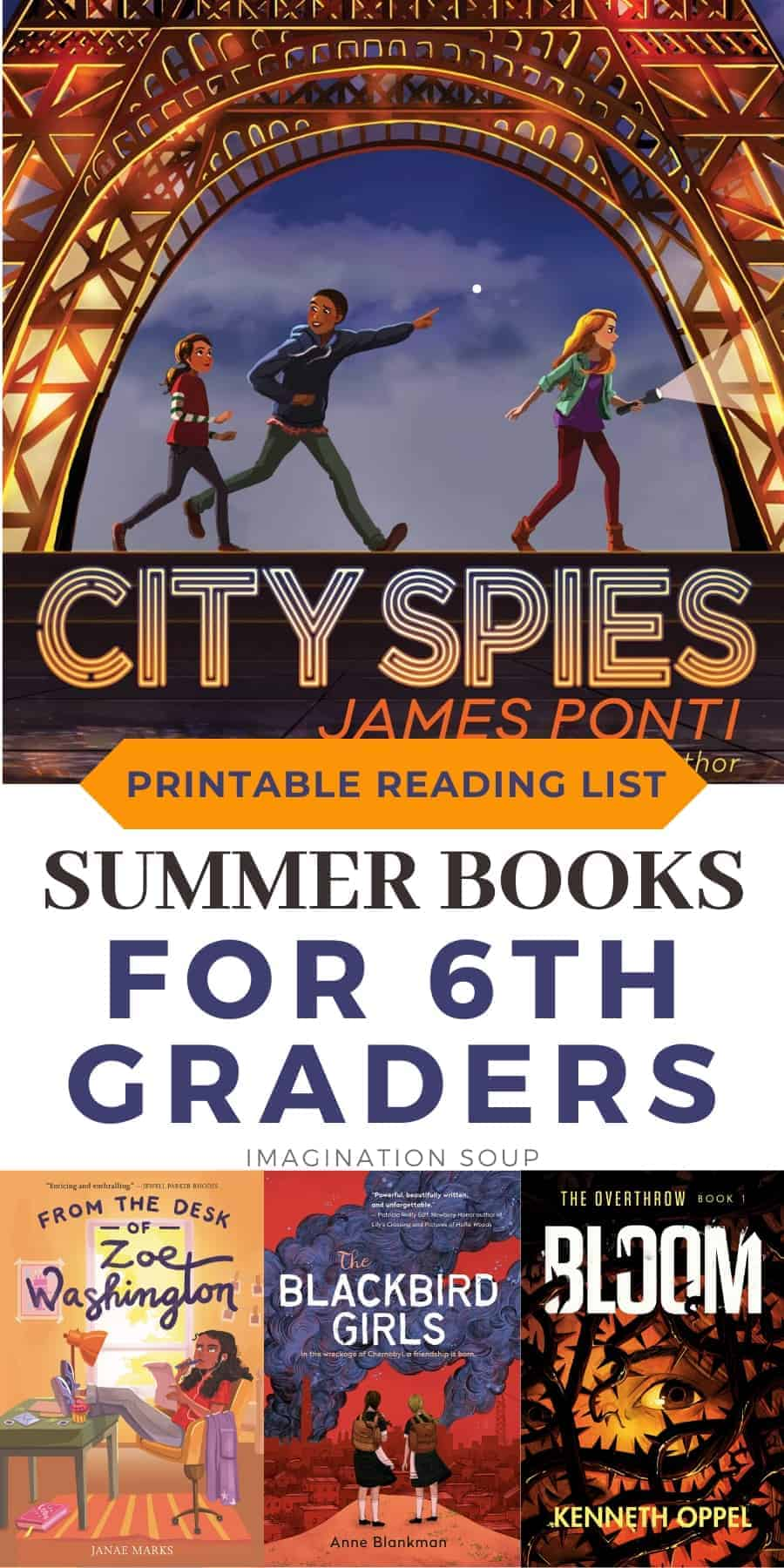 summer reading ideas for 6th graders ages 11 and 12