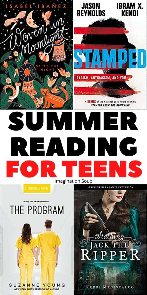 recommended books for teens summer reading (YA books)