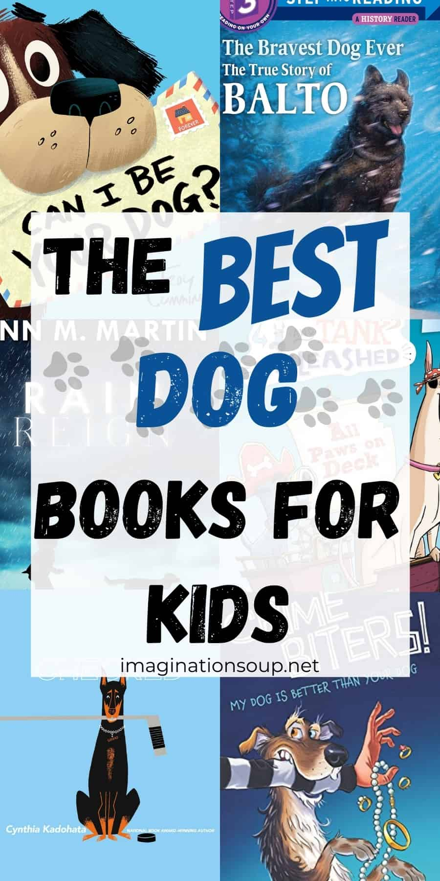 the best dog books for kids 2-12