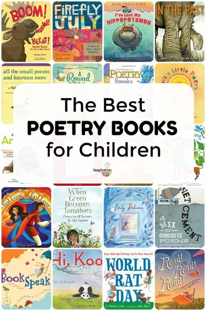 the best poetry books for kids
