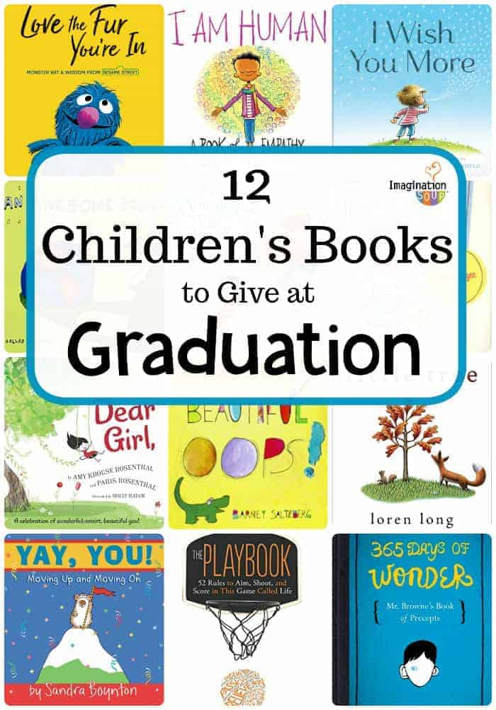 12 children's gift books for graduation