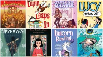 New Graphic Novels Spring 2019