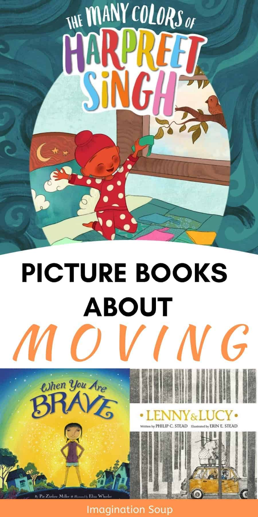 Picture books about moving to a new home