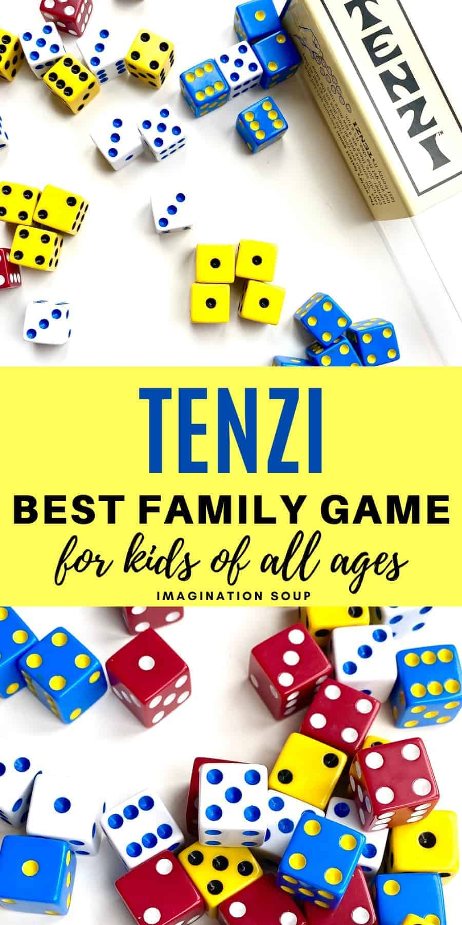 Tenzi is the best family game for kids of all ages