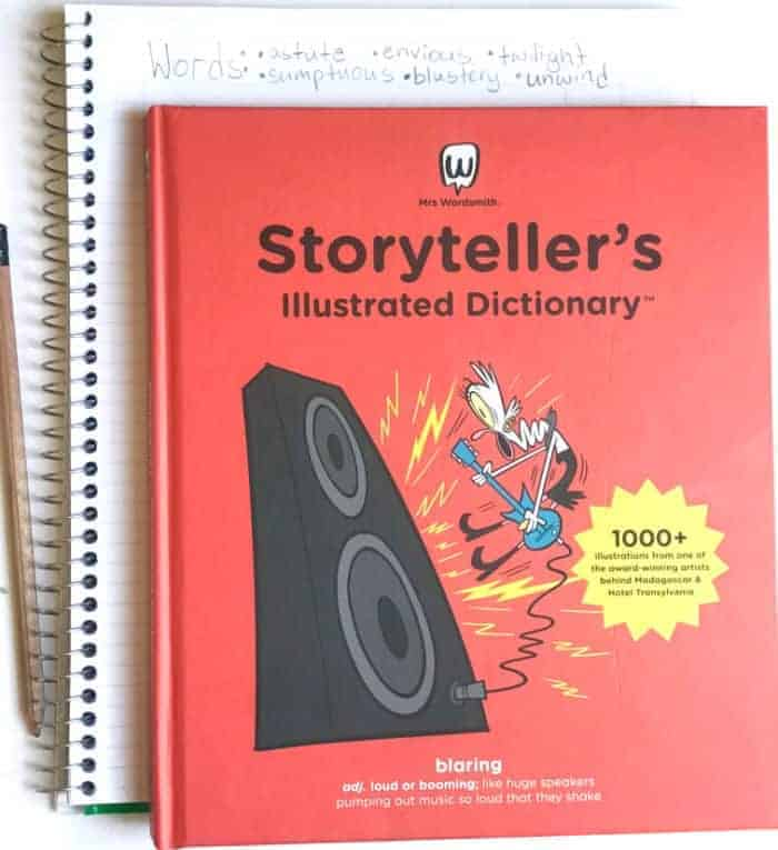 6 Vocabulary Building Writing Activities with Mrs. Wordsmith's Storyteller Dictionary