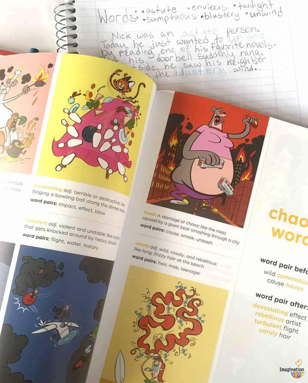 learn new words with this illustrated dictionary for kids