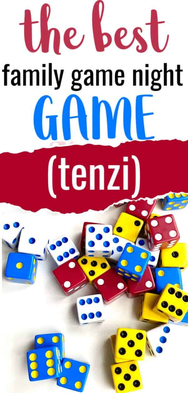 tenzi, the best family game night game for all ages
