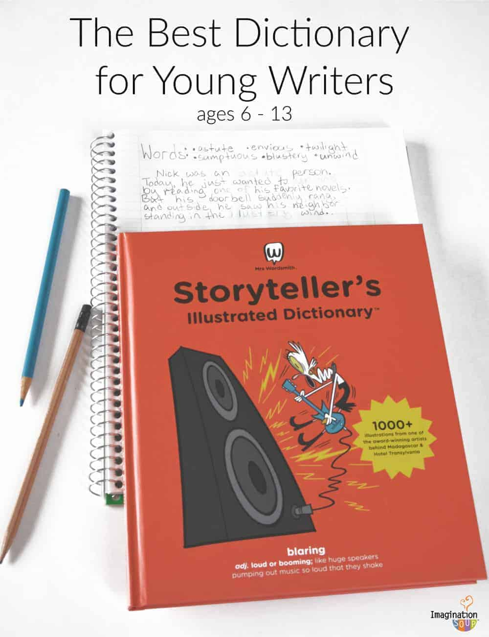 6 Vocabulary Building Writing Activities for Mrs. Wordsmith's Storyteller Illustrated Dictionary