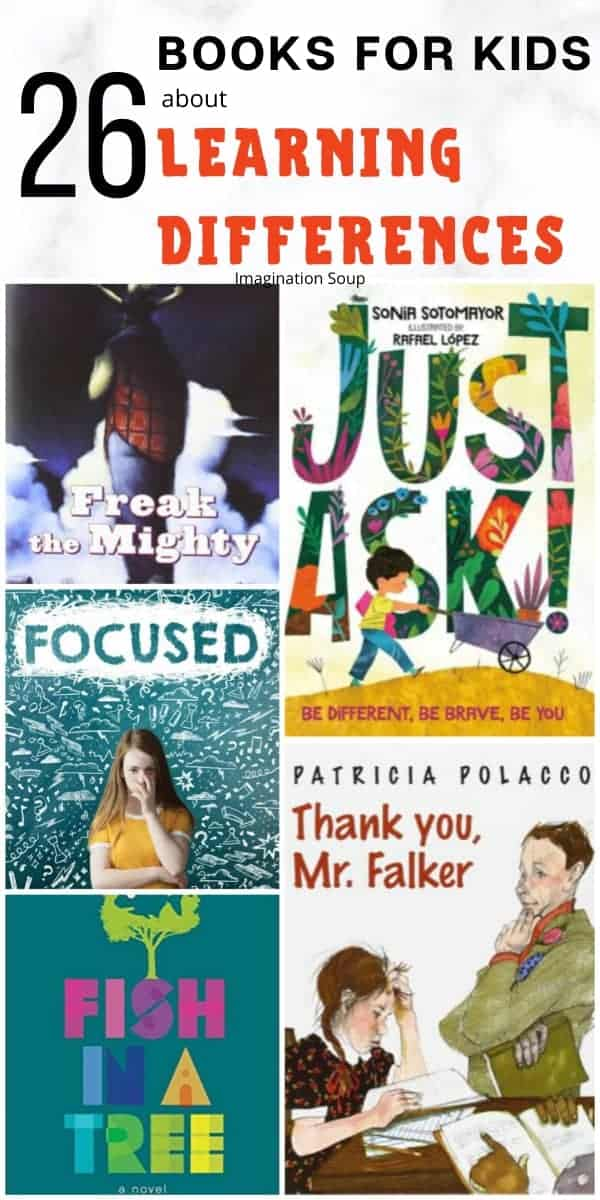 26 books for kids about learning disabilities