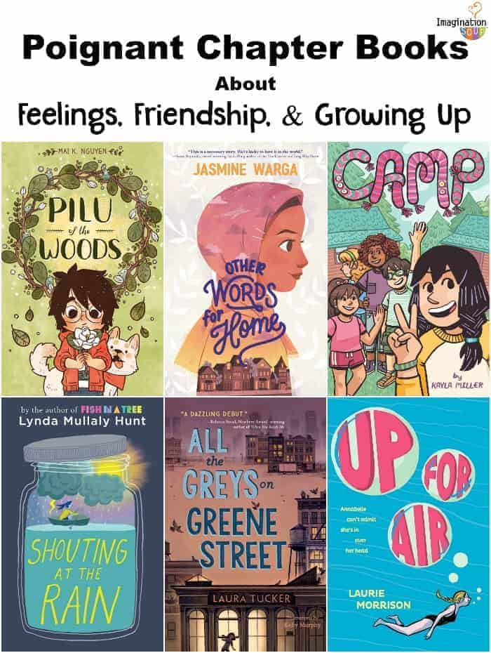 Poignant Middle Grade Books About Feelings, Friendships, & Growing Up