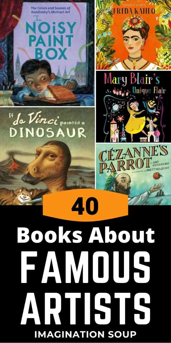 best children's books about famous artists