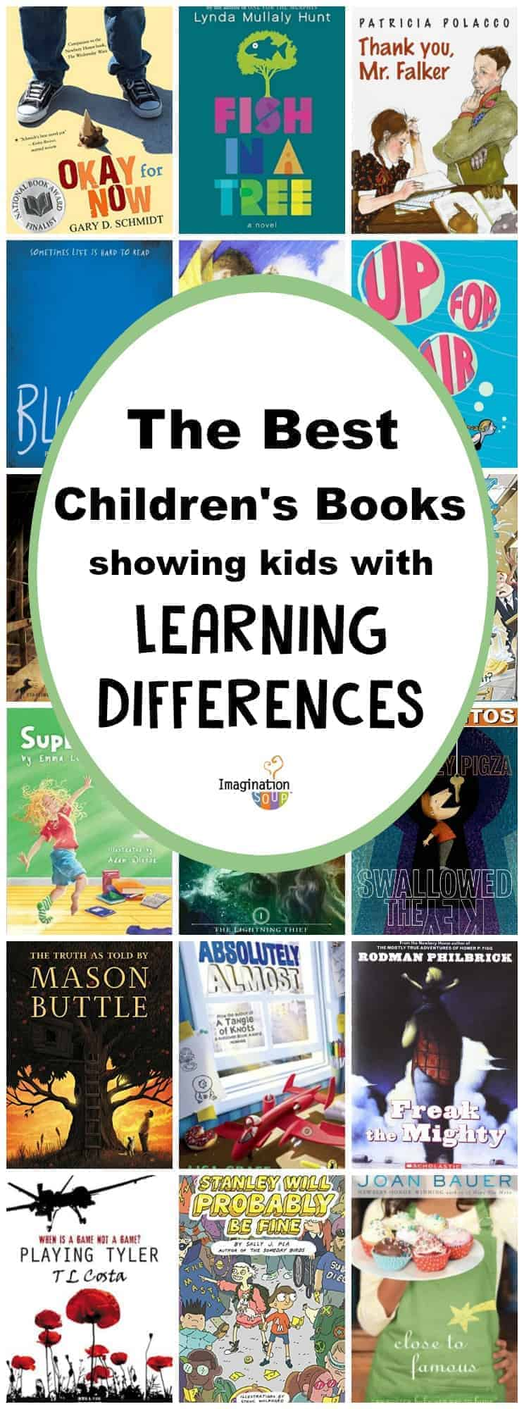 the best childrens books featuring characters with learning differences