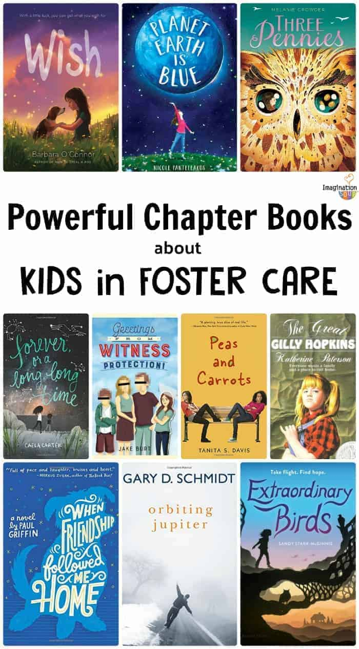 10 Chapter Books Featuring Kids in Foster Care