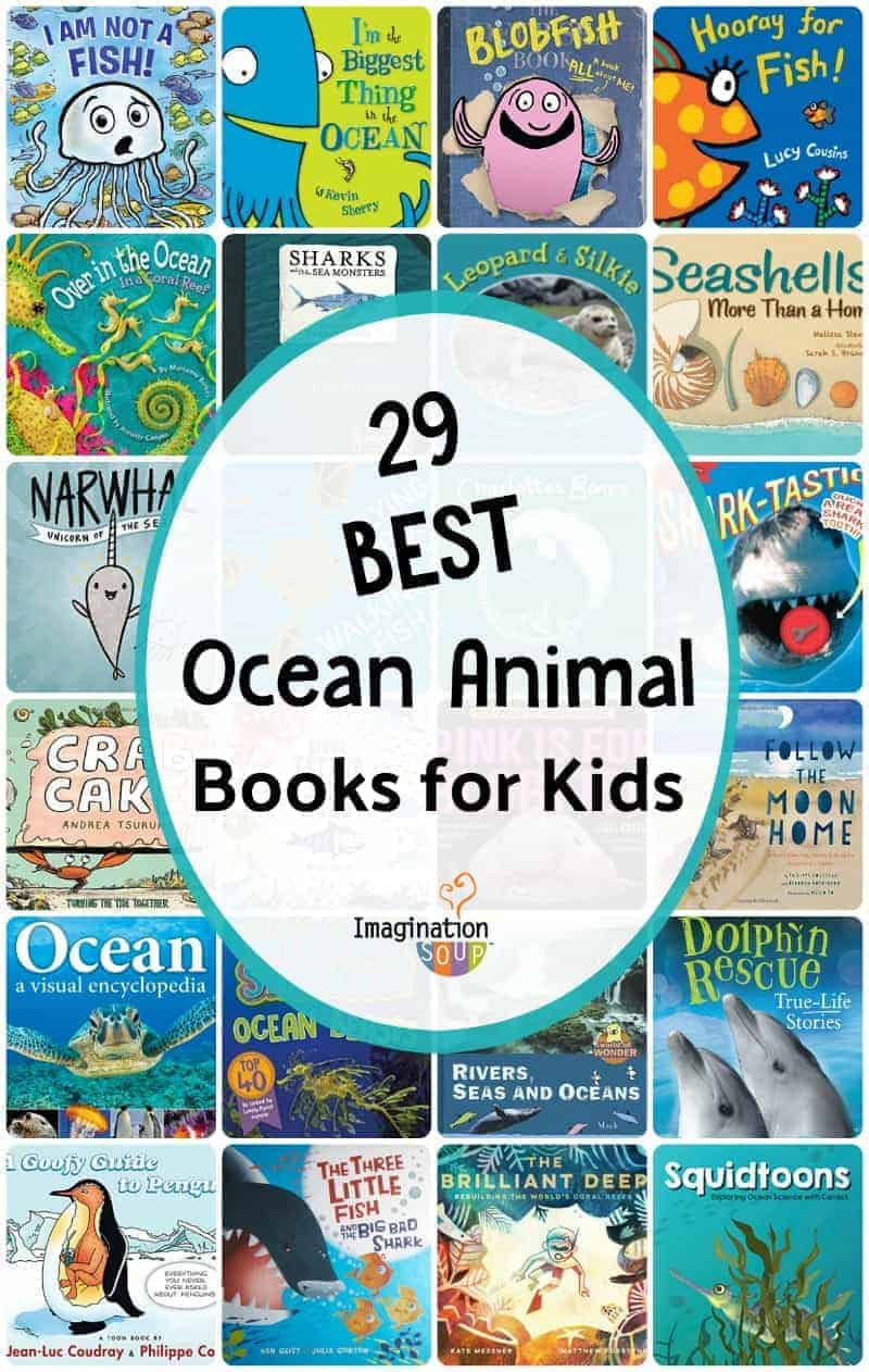 29 Books for Kids About Ocean Animals