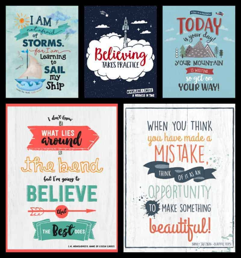 Growth Mindset Posters From Children S Books Imagination Soup
