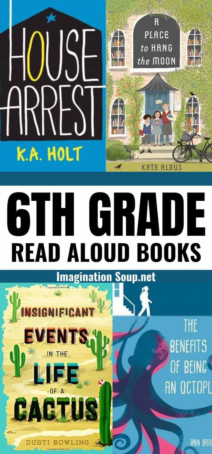 6th grade read aloud books